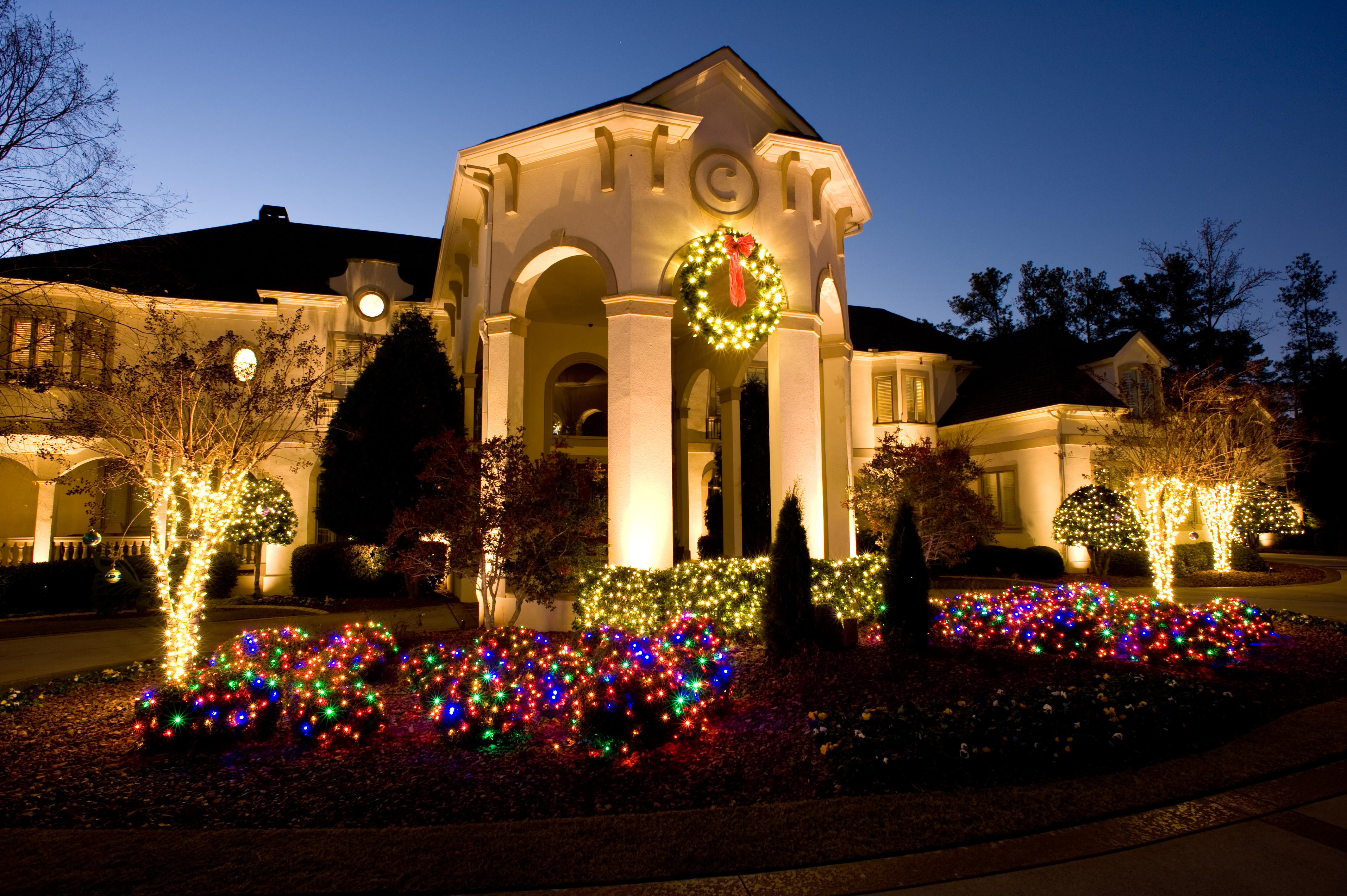 Holiday Decorations, Professional Christmas Lights ...